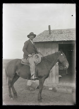 William Marshall on Horseback