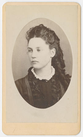 Oliver Dennie portrait of an unidentified woman