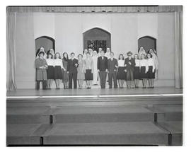 Cast of Marylhurst College play