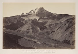 """O.45. The Summit of Mt. Hood. From the Hood River Ascent."""