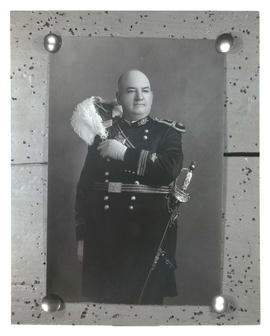 Photograph of unidentified man in military uniform