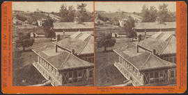 """Panorama of Victoria (B. C.) from the Government Buildings, (No. 2.)"" (Stereograph 5265)"