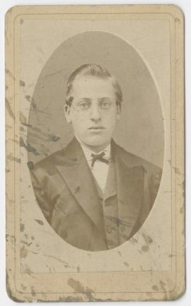 Portrait of an unidentified man from B. F. Howland & Co. Studio