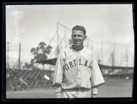 Ernie Johnson, baseball player for Portland