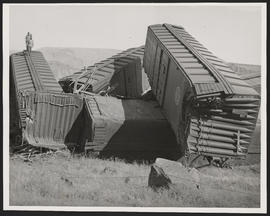 Rear End Train Collision at Yellepit, Washington