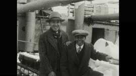 "Tsuboi Family Home Movie - ""Sea Scenes aboard freighter - Japanese scenery"""
