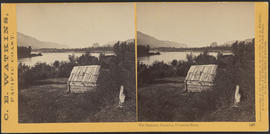 """The Garrison, Cascades, Columbia River."" (Stereograph 1257)"