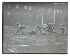 Football game, possibly at Multnomah Stadium