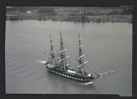 USS Constitution under way on Columbia River?