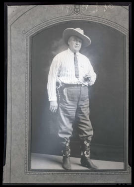 Photograph of Cy J. Bingham, Grant County sheriff