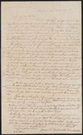 Letter from Anna Maria Pittman to George Washington Pittman, 1834