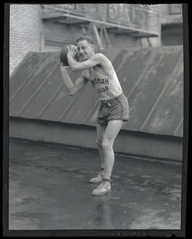 Clyde Hiller, basketball player for Multnomah Gun Club