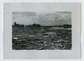 Debris left by the Vanport flood