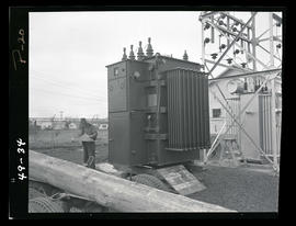 Man with substation