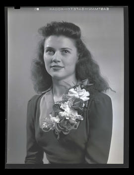 1942 Portland Rose Festival Princess Janet Newman, Washington High School