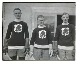 Hockey players for Portland Rosebuds