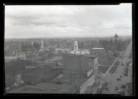View of area near Oregon State Capitol, Salem, Oregon