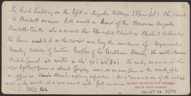 "Verso of, ""Panorama of Victoria (B. C.) from Christ Church, (No. 12.)"" (Stereograph 5288)"