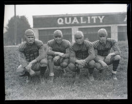 Heikenen, Carlson, McPike, and Cox, Washington High School football players
