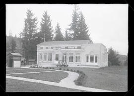 Exterior of Portland Gun Club building