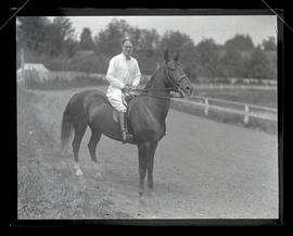 Unidentified man on horseback