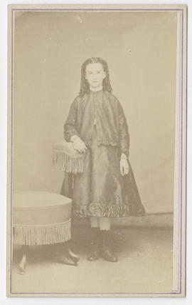 Joseph Buchtel portrait of unidentified girl