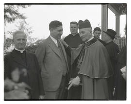 Cardinal Alexis Henri Marie Lépicier and Journal writer Ernest W. Peterson