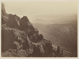 """Round Top from a point W.S.W. of Summit looking W."" (Mammoth 1277)"