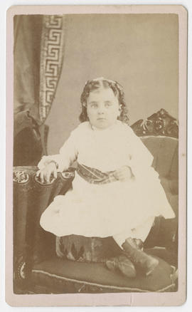 Unidentified young girl