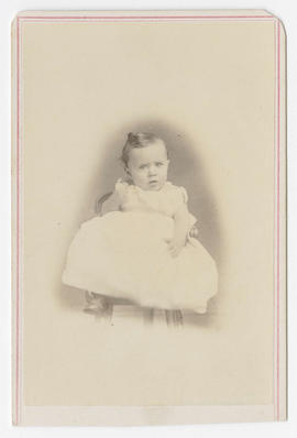 Denny H. Hendee portrait of an unidentified baby