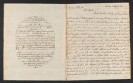Letter from Colburn Barrell to Joseph Barrell