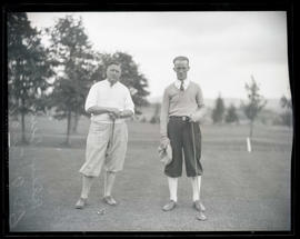 Alex Duncan and C. A. English, golfers