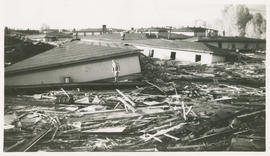 Damage from the Vanport Flood