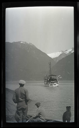 Tusitala at Bute Inlet