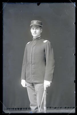 William Finley in Uniform