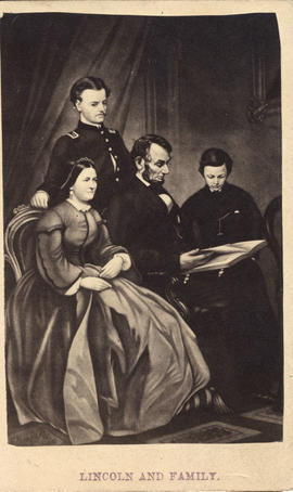 Lincoln, President Abraham and family