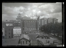 View of downtown buildings between 6th and Broadway, downtown Portland
