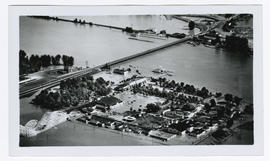 Jantzen Beach Amusement Park during the Vanport flood