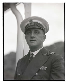 Unidentified naval officer?, head and shoulders portrait