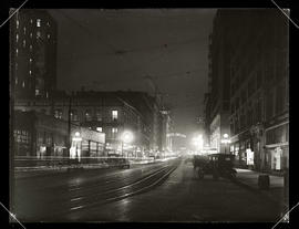 Night view, Broadway