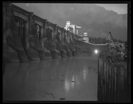Cofferdam at Bonneville Dam