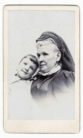 Caroline Elizabeth (Couch) Wilson and Anita Burns Davis