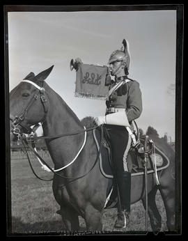 Mounted soldier from Lord Strathcona's Horse regiment