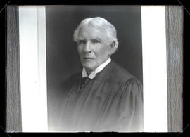 Photograph of unidentified judge?