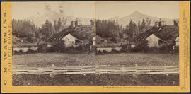 """Lookout Mountain, Cascades, Columbia River."" (Stereograph 1271)"