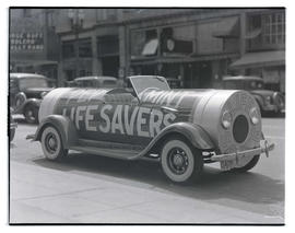 Life Savers candy promotional car