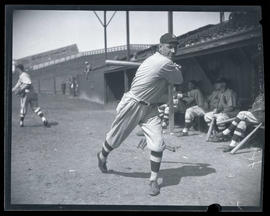 Harry Hannah, baseball player for Los Angeles