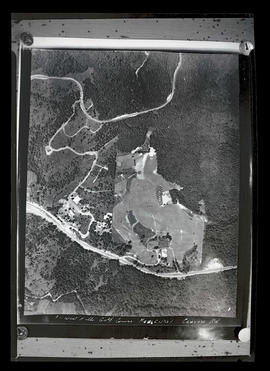 Aerial photograph of West Hills Golf Course, Washington Park, Portland