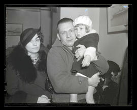 Walter Baer and family