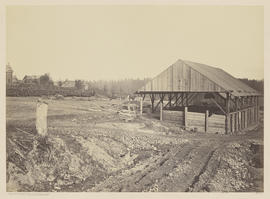 """Panorama Oswego Iron Works. Oregon."" (Mammoth 407)"